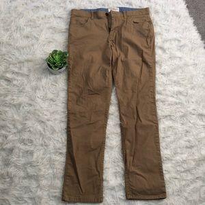 Men's Tan Chino Pants